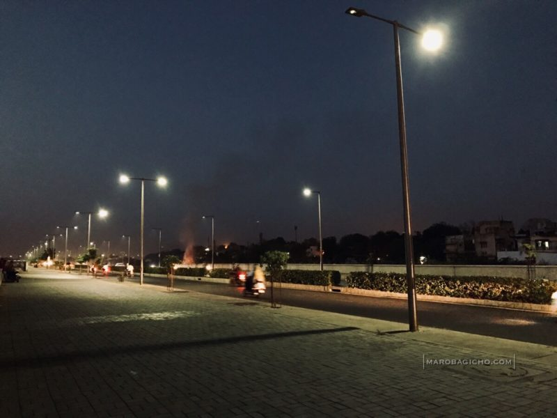 Sabarmati Riverfront Road